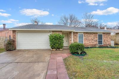 North Richland Hills Single Family Home Active Option Contract: 7409 Chelmsford Place
