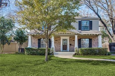 Lake Highlands Single Family Home Active Contingent: 9435 Biscayne Boulevard