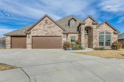 Weatherford Single Family Home Active Option Contract: 106 Crest Ridge Court