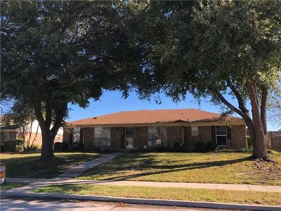 Carrollton Single Family Home For Sale: 2410 Meadow Creek Drive