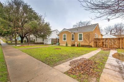 Fort Worth Single Family Home For Sale: 4008 Locke Avenue