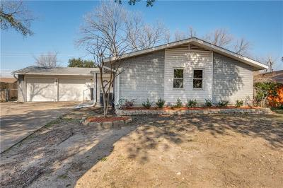 Irving Single Family Home For Sale: 1925 Canterbury Street