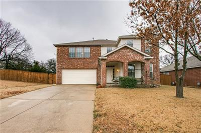 Corinth TX Single Family Home Active Option Contract: $275,000