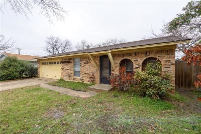 Denton Single Family Home For Sale: 3613 Briercliff Drive