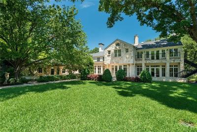 Preston Hollow, Preston Hollow Rev Single Family Home For Sale: 5300 Deloache Avenue