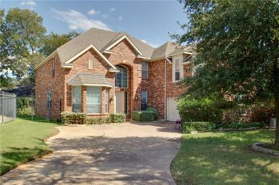 Euless Single Family Home Active Option Contract: 2306 Brown Bear Court