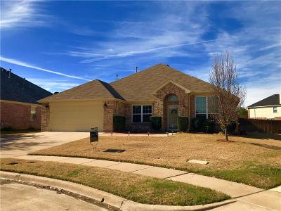 Mansfield Single Family Home Active Option Contract: 3207 Silver Point Court