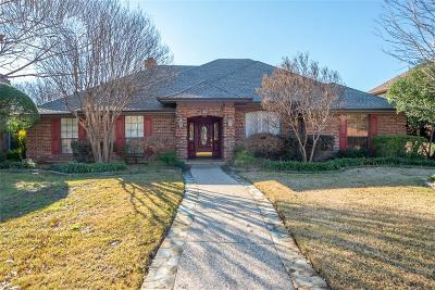 Plano Single Family Home Active Option Contract: 3804 Wyeth Drive
