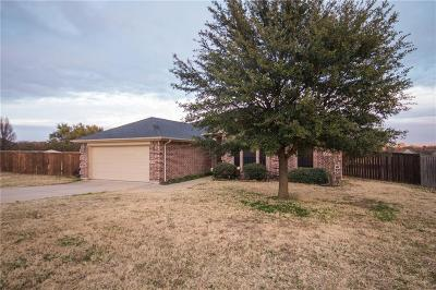 Weatherford Single Family Home Active Option Contract: 218 Willow Creek Drive