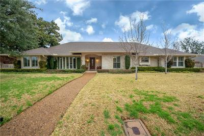 Dallas Single Family Home For Sale: 7147 Roundrock Road