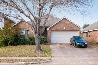 Grand Prairie Single Family Home Active Option Contract: 2868 Grandview Drive