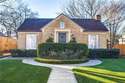 Dallas Single Family Home For Sale: 2222 Carnes Street
