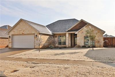 Abilene Single Family Home For Sale: 7425 Tuscany Drive