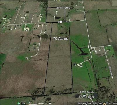 Forney Farm & Ranch For Sale: 16820 County Road 221