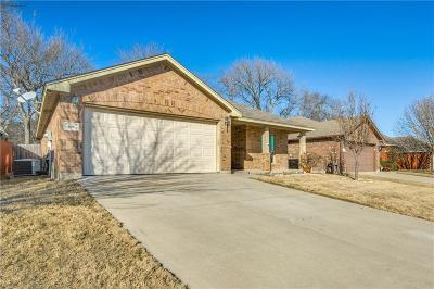 Azle Single Family Home Active Option Contract: 636 Clearbrook Street