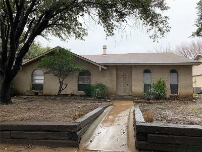 Dallas County, Denton County Single Family Home For Sale: 1815 Arundel Drive