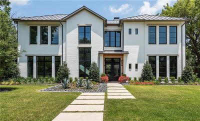 Dallas Single Family Home For Sale: 6539 Tulip Lane