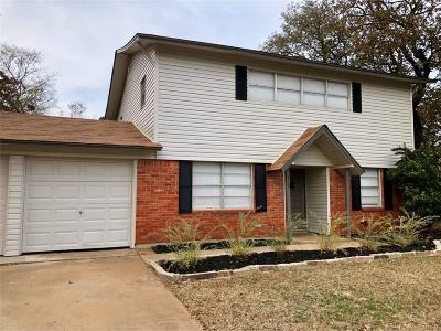 Euless Single Family Home Active Option Contract: 116 Jefflyn Court