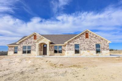 Erath County Single Family Home Active Option Contract: 390 Ogan Road
