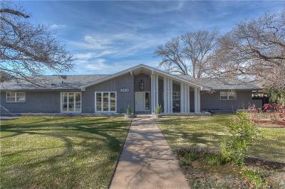 Dallas, Fort Worth Single Family Home For Sale: 4220 Hildring Drive W