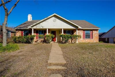 Desoto Single Family Home Active Option Contract: 1053 Twin Falls Drive