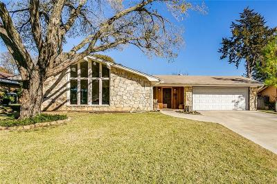 Benbrook Single Family Home Active Option Contract: 3905 Twilight Drive S