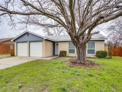Burleson Single Family Home Active Option Contract: 337 Todd Street