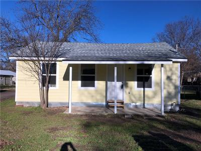 Stephenville TX Single Family Home For Sale: $104,900