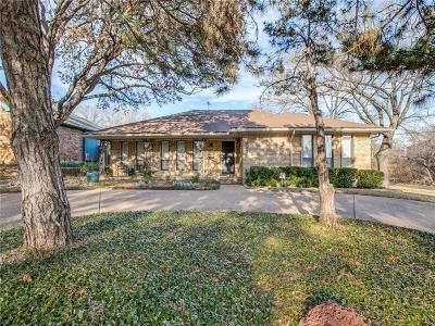 Dallas Single Family Home Active Option Contract: 9667 Timberleaf Drive