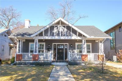 Dallas, Fort Worth Single Family Home For Sale: 5455 Vickery Boulevard