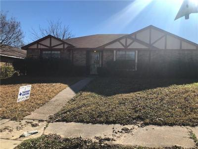 Mesquite Single Family Home For Sale: 1316 Blair Drive