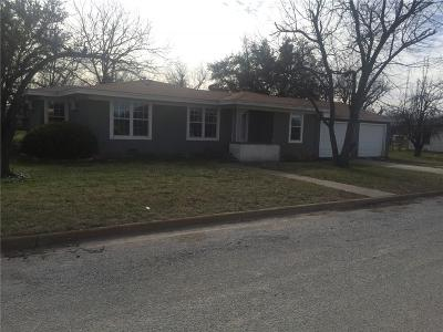 Bangs Single Family Home For Sale: 807 Gantt Street