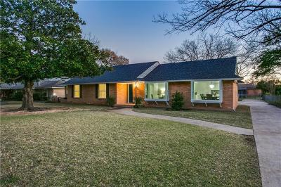 Richardson TX Single Family Home Active Contingent: $387,750