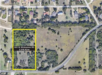 Lancaster Residential Lots & Land For Sale: 1651 W Wintergreen Road