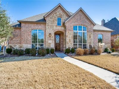 Sachse Single Family Home Active Option Contract: 7544 Meadow Run Lane