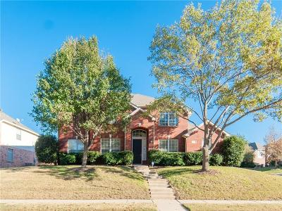 Plano Single Family Home Active Option Contract: 8216 Grand Canyon