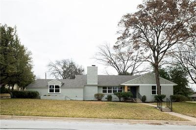 Fort Worth Single Family Home For Sale: 4013 Angus Drive
