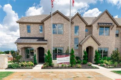 Flower Mound Townhouse For Sale: 2216 Zenith Avenue