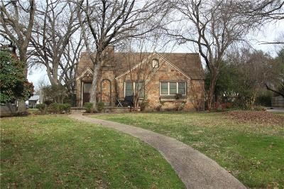 Waxahachie Single Family Home For Sale: 800 Sycamore Street