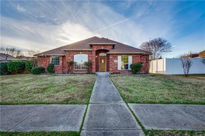 Rowlett Single Family Home For Sale: 3509 Bridgewater Drive