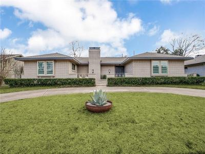 Dallas Single Family Home For Sale: 6306 Highgate Lane
