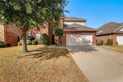 Denton County Single Family Home Active Option Contract: 15461 Landing Creek Lane
