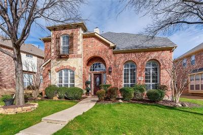 Frisco Single Family Home Active Option Contract: 5390 Park Ridge Drive