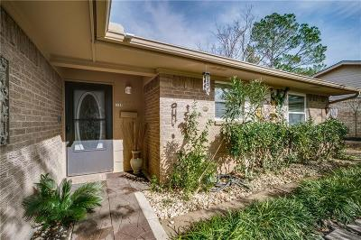 Garland Single Family Home Active Option Contract: 1109 Woodcrest Drive