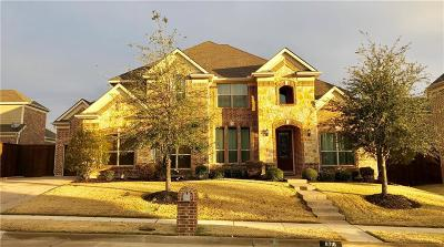 McKinney Single Family Home For Sale: 8716 Milano Drive