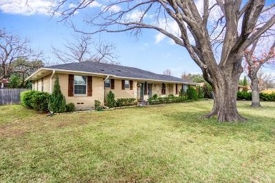 Dallas Single Family Home For Sale: 10433 Marsh Lane