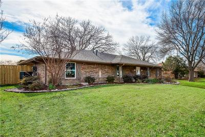 Plano Single Family Home Active Option Contract: 2816 Mollimar Drive