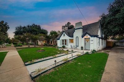 North Oak Lawn, North Oak Lawn Add, Notth Oak Lawn, Oak Lawn Heights, Oaklawn Single Family Home For Sale: 5303 Denton Drive