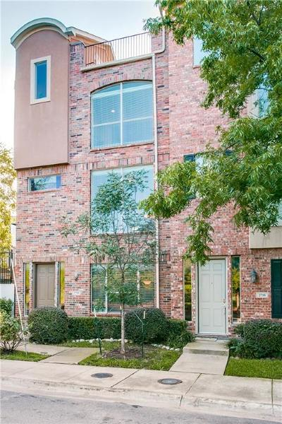 Dallas Townhouse For Sale: 2718 Floyd Street