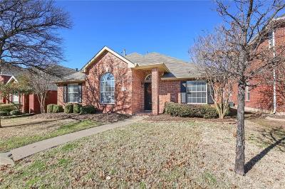 Allen Single Family Home Active Option Contract: 1410 Hickory Bend Drive